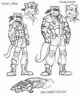 Swat Kats Jake Razor Deviantart Coloring Cartoon Chance Bone Drawing Drawings Sheets Truck Sketches sketch template