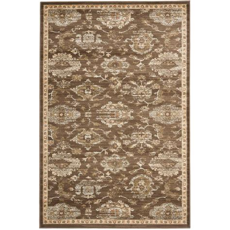 Safavieh Florenteen Rug by Safavieh Florenteen Brown Ivory 5 Ft X 8 Ft Area Rug