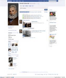Fictional Facebook Profile The Alexander Graham Bell