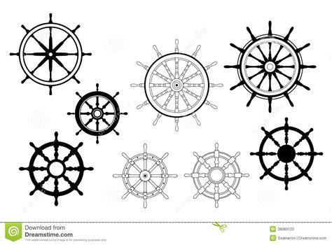 Nautical Ships Wheels Stock Photos
