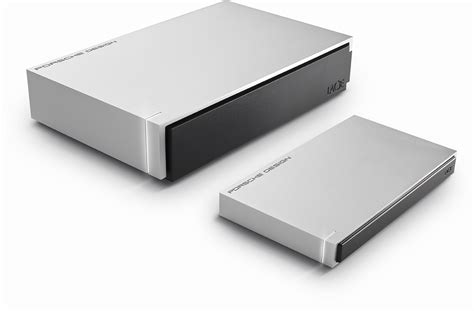 Lacie And Porsche Design Intros Luxury Line Of Hard Drives