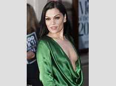 Jessie J comes close to a wardrobe malfunction at GQ