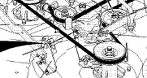 craftsman lt1000 drive belt diagram 36 inch craftsman lt1000 deck belt diagram 36 free