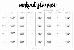 9  Excel Workout Templates