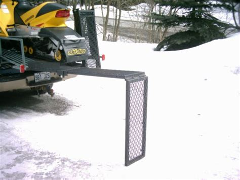 Sled Deck Build by Snowmobile Sled Deck