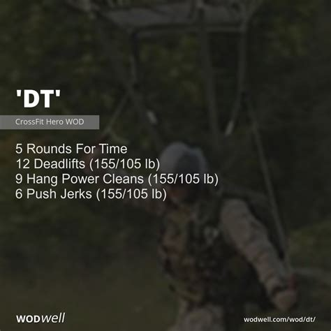 dt wodwell wod th