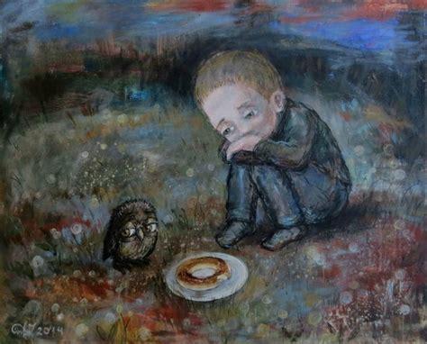 belas imagens criadas pela artista nino chakvetadze
