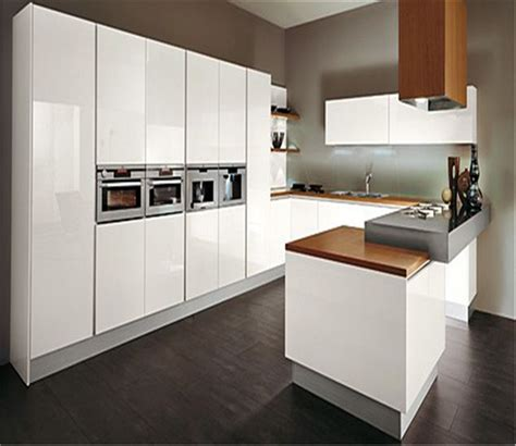 glossy white kitchen cabinets modern high gloss kitchen cabinet furniture