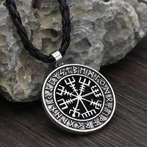 Compas De Vegvisir : collier viking homme pendentif boussole homme bijoux ~ Melissatoandfro.com Idées de Décoration