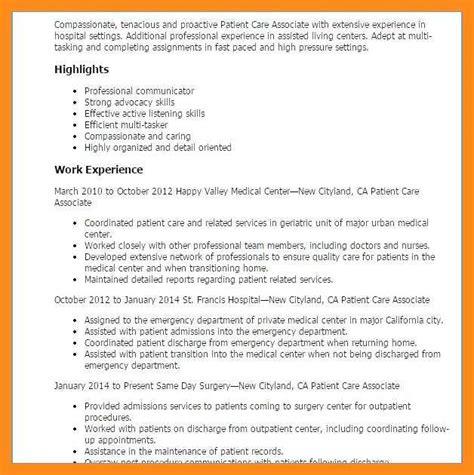 Cna Resume by 12 13 Cna Resume Objective For Hospital