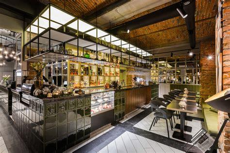 restaurant bar design awards hotel indigo krakow  town