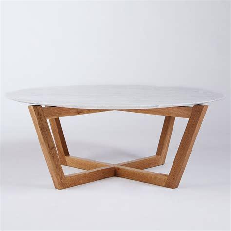 modern white round coffee table modern designer round italian marble coffee table oak