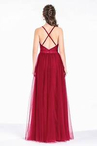 Robe De Mariée Dos Nu Plongeant : sexy robe rouge pourpre fendue v plongeant dos nu ~ Melissatoandfro.com Idées de Décoration
