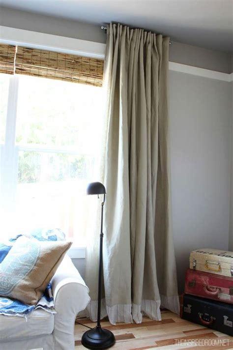 easy diy  sew embellished ikea curtain panels ikea