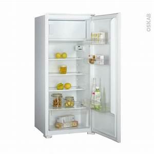 Refrigerateur Encastrable 122 Cm : r frig rateur 186l int grable 122 cm frionor df122bi oskab ~ Melissatoandfro.com Idées de Décoration