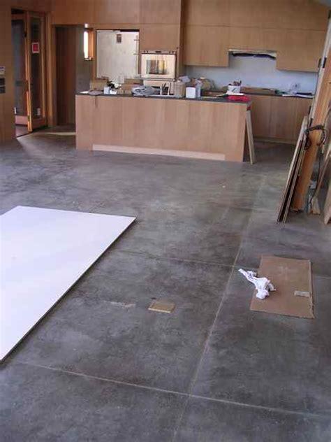 concrete contractor floors