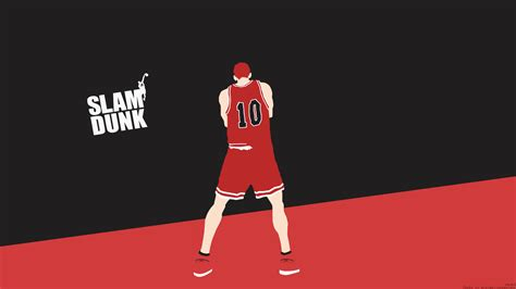 Slam Dunk Anime Wallpaper - slam dunk sakuragi hanamichi shohoku high wallpapers hd