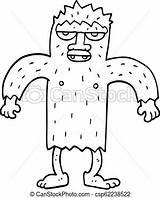 Yeti Drawing Monster Line Cartoon Drawings Clip Paintingvalley Clipart sketch template