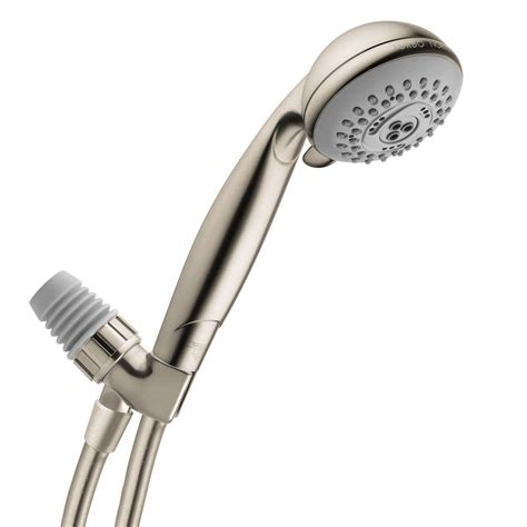 Hansgrohe Held Shower - hansgrohe croma e 75 3 spray shower with shower arm