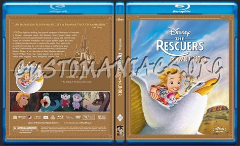 The Rescuers Down Under Blu-ray Cover