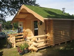 Cutest Little Garden Log Cabin « The Log Builders