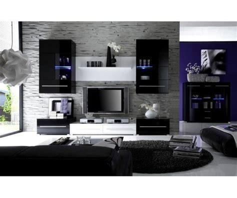 chambre laqué blanc brillant meuble salon design noir laqué meubledesign déco
