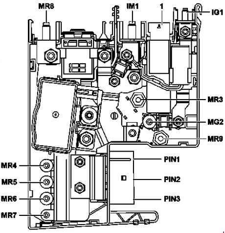2009 Mercede E Clas Fuse Diagram by Mercedes E Class W212 2009 2016 Fuse Box