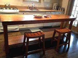 Handmade Rustic Kitchen Table by Fearons Fine Woodworking