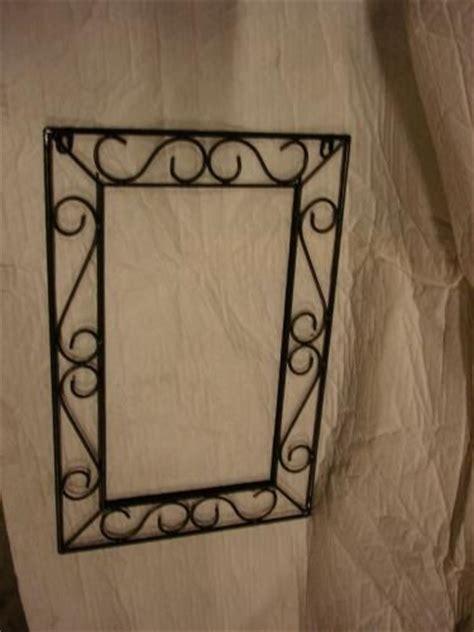 miroir en fer forge cadre pour miroir fer forg 233 60cm neuf destockage grossiste