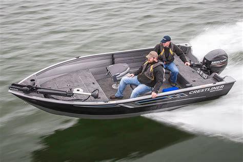 Aluminum Fishing Boat New by 2016 New Crestliner 1600 Vision Tiller Aluminum Fishing