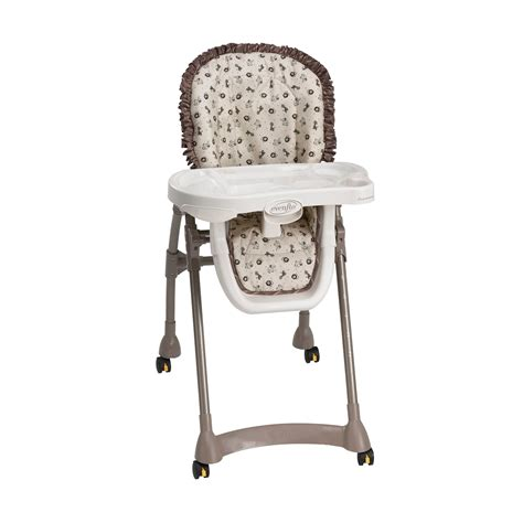 evenflo expressions high chair safari ii
