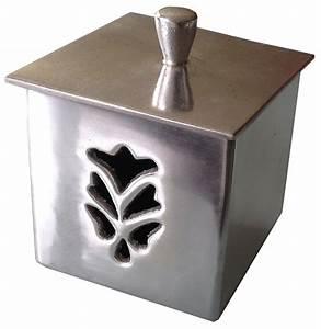 une jolie boite a coton pour la salle de bain conseils With salle de bain design avec boite à décorer carton