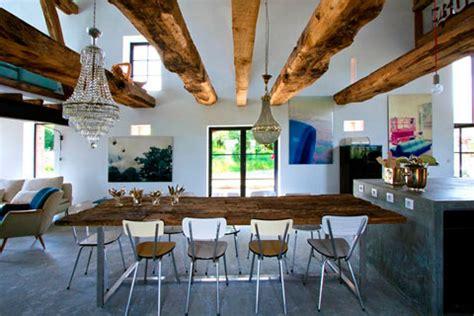 wooden dining tables ideal about remodel small home decoración de casas rústicas ideas y trucos decorar hogar