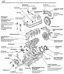 1997 Honda Engine Diagram