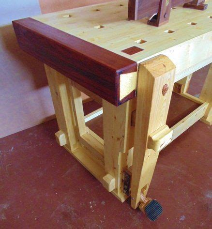 vise  bench love  exotic wood trim