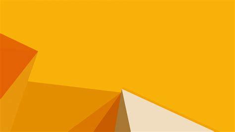 wallpaper polygon yellow  os