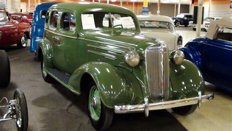 1936 Chevrolet Standard Sedan 216 Stovebolt Six