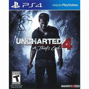 PlayStation 4 Limited Edition Uncharted 4 Console Bundle ...