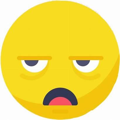Bored Emoji Dull Boring Clipart Sleepy Transparent