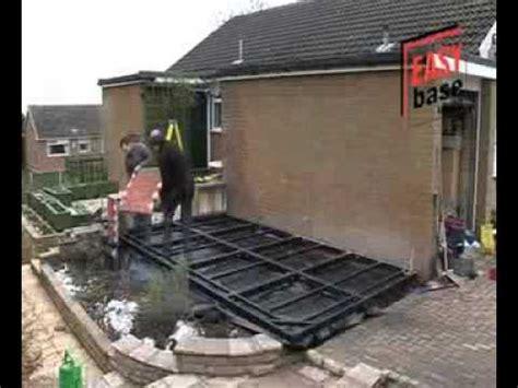 build conservatory base installation youtube