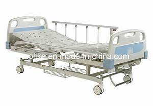 China Two Crank Manual Hospital Bed  Alk06