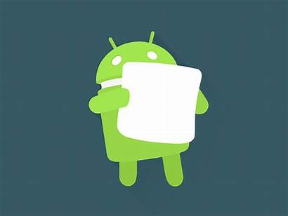 Android Marshmallow Flat Icon Dribbble Wallpapers Materialup