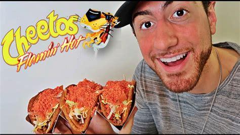 Diy Hot Cheetos Tacos Youtube