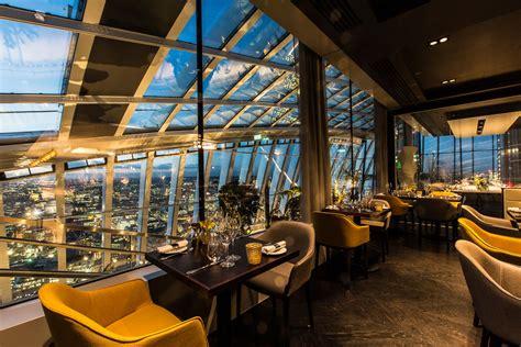 London Restaurant Of The Week Fenchurch  British Gq