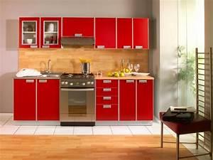 Mobiliario, De, Cocina, Rojo, Im, U00e1genes, Y, Fotos
