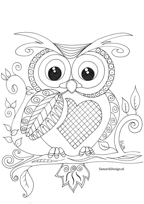 Amazing Owl Colouring Pictures Coloring Pages 12206