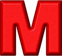 Presentation Alphabets Red Refrigerator Magnet M Symbol 3d Pin Red Letter R On Pinterest Letter R Red Online Image Arcade