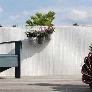 Sichtschutzmatten Für Zäune : sichtschutzmatte pvc kunststoff r gen wei sichtschutz ~ Articles-book.com Haus und Dekorationen