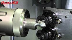 Quicktech 10 Axis Lathe Model I-42 Twin With B-axis