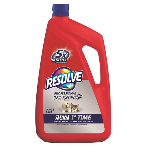 Rug Cleaner Solution by Resolve 96 Oz Carpet Cleaning Solution At Lowes